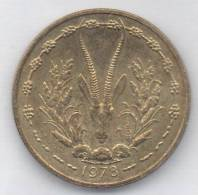 AFRICA OCCIDENTALE 25 FRANCS 1978 - Monete