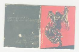 """Calendrier  """" Petit Almanach Pour 1967 Suffren Pressing Paris Dessin Danseuse Espagnole De Flamenco  H Munschy ? - Petit Format : 1961-70"""