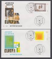 BRD FDC 1993 - MiNr. 1673-1674 - Europa CEPT (b) - FDC: Buste