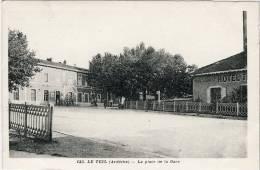 07- LE  TEIL- PLACE  DE  LA  GARE  N799 - Le Teil
