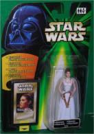 Figurine Star Wars - Princesse LEIA (Blister Vert) Photo Flash Bac (Neuf  Sous Blister) - Episode I