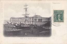 Amérique - Valparaiso - Bâteaux Voilier - Ecole Navale - Escuela Naval - Postmark - Chili