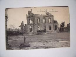 LAVENTIE (62): CPA La Gare En Ruine - Guerre Mondiale 1914-18 - Laventie