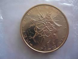 1974 10 FRANCS FR FRANC MATHIEU FDC BU FLEUR DE COIN SOUS BLISTER MONNAIE DE PARIS PIECE NEUVE - Z. VZ