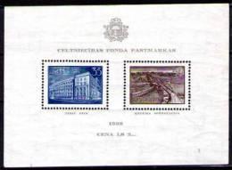 BLOC FEUILLET AU PROFIT BATIMENTS NATIONAUX TIMBRES FRAICHEUR POSTALE, 2 Amincis - Lettonie