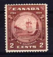 Canada - 1934 - 150th Anniversary Of Province Of New Brunswick - MH - 1911-1935 George V