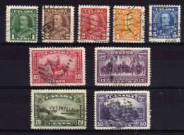 Canada - 1935 - George V Definitives (Part Set) - Used - 1911-1935 Reign Of George V