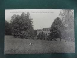 Cp Saint Aubin  Chateauneuf  Chateau De Fourolles ( Vue Prise Dans Le Parc) - France