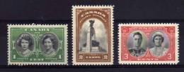 Canada - 1939 - Royal Visit - MH - 1937-1952 George VI