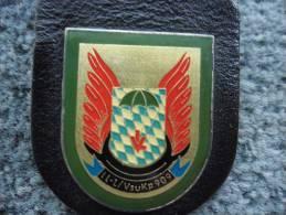 Insigne Militaire De Parachutistes Allemand - Allemagne - LL - L / Vsukp 909 (DEUTCHLAND) @ - Armée De Terre