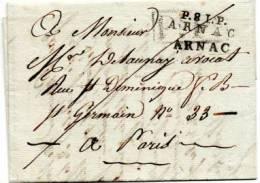 P 81 .P;ARNAC.  . PORT PAYE  . 11PP 59 - 1801-1848: Precursors XIX