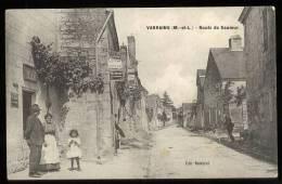 Varrains: Route De Saumur - France