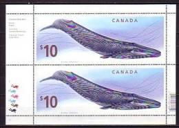2010 CANADA Neuf ** N° F 2545 Faune Marine : Cétacé : Rorqual Bleu - 1952-.... Reign Of Elizabeth II