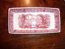 Ancien Petit Ravier Rectangulaire Mason's Rose - Kernewek