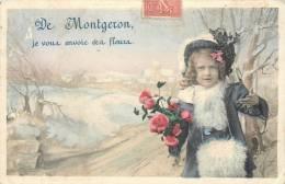 91 MONTGERON JE VOUS ENVOIE CES FLEURS - Montgeron