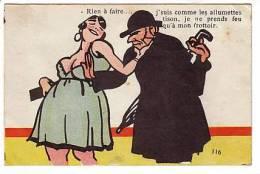 Je Suis Comme Les Allumettes Tison... Prostituée Prostitution -  Belle Ilustration - 1900-1949