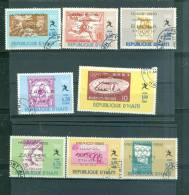 Lot  8 Timbres Haiti Melbourne 1956 Oblitérés Tb - Ai9905 - Haïti