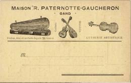 GAND - Maison R.PATERNOTTE-GAUCHERON - Lutherie Artistique - Publicidad