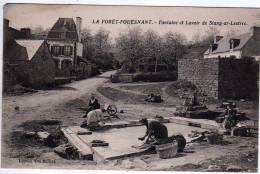 29 - La Forêt Fouesnant - Fontaine Et Lavoir De Stang Ar Lestrec - Edition Vve Bolloré - La Forêt-Fouesnant