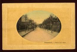 Cpa Du 95  Argenteuil Avenue De La Gare     Arg20 - Argenteuil