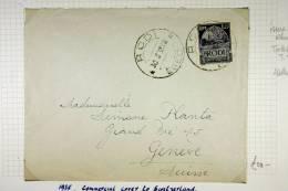 Italy: Rhodes/Rodi, Cover To Geneva, Switserland, 1935 - Aegean (Rodi)