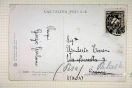 Italy: Rhodes/Rodi, Postcard With 10c Stamp To Pisa (address Changed) - Ägäis (Rodi)