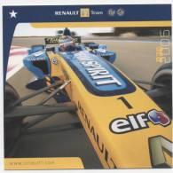 TRANSPORT  L 10   /   FORMULE  1  /   RENAULT TEAM  2006  CPM  15 X 15 - Motorsport