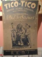 *Vieille Partition TICO TICO, Du Film Le Bal Des Sirènes, 1943 - Musique & Instruments