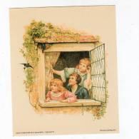 Oct12  57319   Jolie Gravure  Trois Enfants - Photography