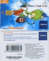 Telefonkarte Australien - Child Flight - Rotes Kreuz - Australia