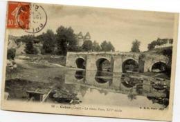18 CULAN - Le Vieux Pont - XVIè Siècle - Animée - Culan