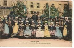 29 - MORLAIX - Concours De Vieux Costumes Du Finistère - Coll. N. L. Morlaix N° 232 Colorisée - Morlaix