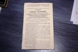 SOUVENIR PIEUX - DOODSPRENTJE - AUGUSTE LIFRANGE VEUF PHILOMENE BALTUS - NE A BASTOGNE 1888 - DECEDE A BOURCY 1956 - Religion & Esotericism
