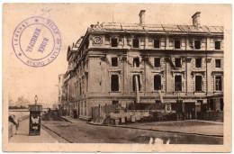 Cpa Paris La Préfecture De Police Après L´incendie (mai 1871) ... Photographie De L´institut D´histoire - France