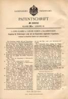 Original Patentschrift - L. Glaser In Grube Reden B. Schiffweiler ,1904, Kupplung Für Förderwagen , Bergbau , Bergwerk ! - Historische Dokumente