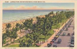 Florida Miami Beach Lummus Park And Bathing Beach - Miami Beach