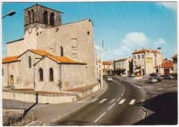 1350-France 63-Saint Bonnet Vue Generale-Publicite Gardelle-Citroen 2 Cv Citroen Dyane-Ed La CigogneRef 63200.01 - France