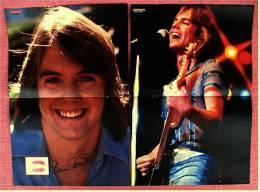 2 Kleine Poster  Shaun Cassidy  -  Von Bravo Ca. 1982 - Plakate & Poster
