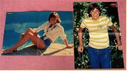 2 Kleine Poster  Kristy McNichol  -  Rückseitig : James Dean  -  Von Bravo Ca. 1981 - Plakate & Poster