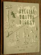 BELGIAN TRAVEL DIGEST - AOUT 1953 ( Informatie Gids - Zie Details Foto ) ! - Europe