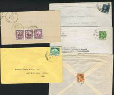 5 Letters To USA 1935-1950 - Iraq