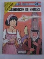 YOKO TSUNO 20 L'ASTROLOGUE DE BRUGES  Par  ROGER LELOUP  -   édition Originale - Yoko Tsuno