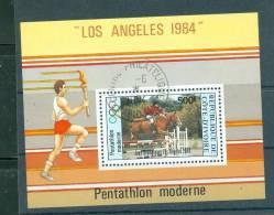 Cote D´ivoire , Bloc Angeles 1984 Oblitéré   AI10004 - Ivory Coast (1960-...)