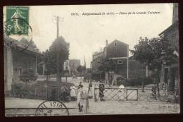 Cpa Du 95 Argenteuil La Place De La Grande Ceinture Arg24 - Argenteuil