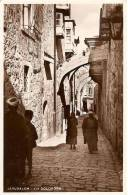 Israele / Gerusalemme  -  IERUSALEM  -  VIA DOLOROSA - Gibilterra