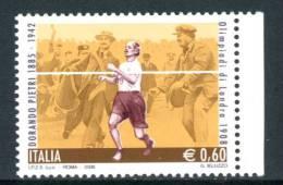 """ITALIA / ITALY 2008** - Olimpiadi Di Londra 1908 """"Dorando Pietri"""" - 1 Val. Come Da Scansione"""