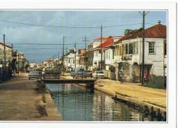CARTE FICHE           BELIZE          LA VILLE     PETIT PORT - Belize