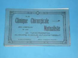 Rare Carnet 20 Vues Detachables Clinique Chirurgicale Mutualiste Montpellier - Montpellier