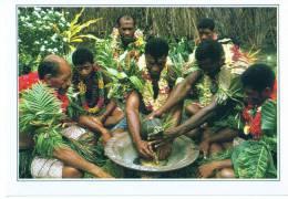 CARTE FICHE   FIDJI         CEREMONIE DU KAWA - Fiji