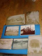Lot De 7 Photos Originales Anciennes VIETNAM Indochine Lieu A Identifier Saigon? - Viêt-Nam